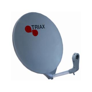 Triax 60cm Fibreglass Dish Grey