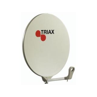 70cm Triax Cream Fibreglass satellite dish