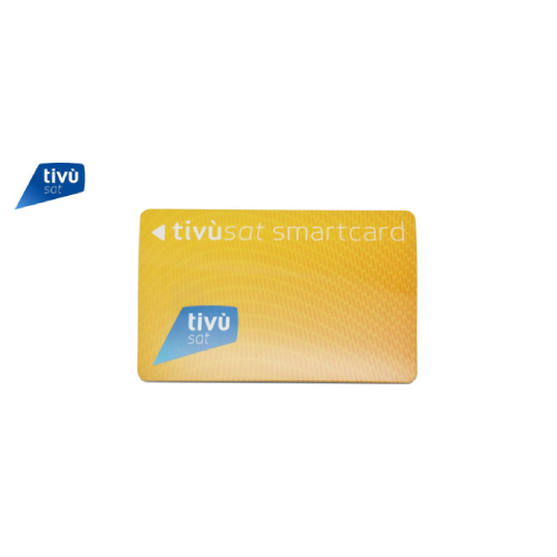 Tivusat Activated Viewing Card