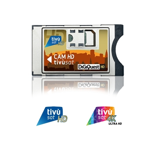 Tivusat 4K Cam and Card