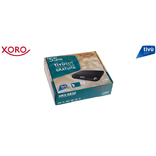 Xoro with activated Tivusat Card