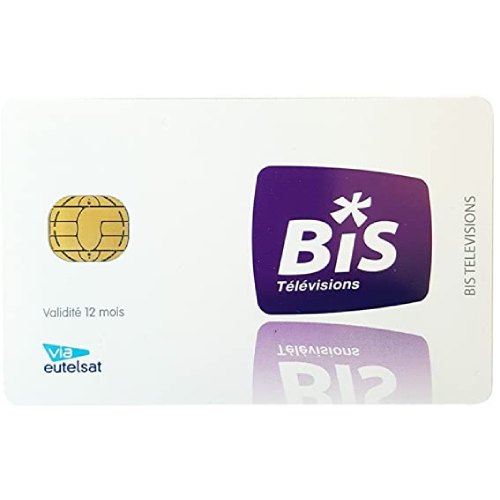 BiS French TV Equidia Viewing Card