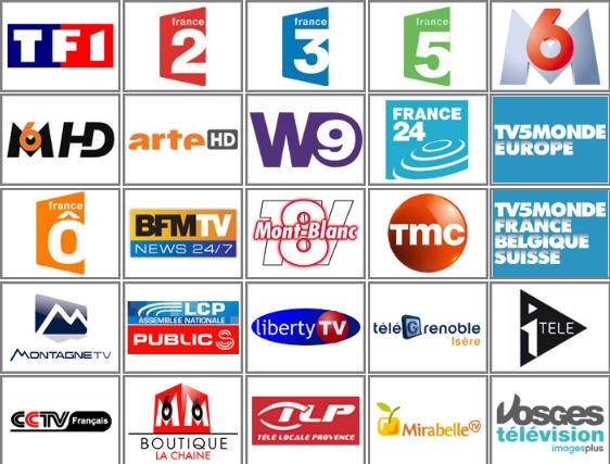 Free French TV Channel Guide