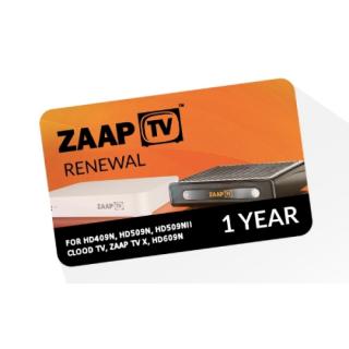 ZaapTV IPTV Renewal