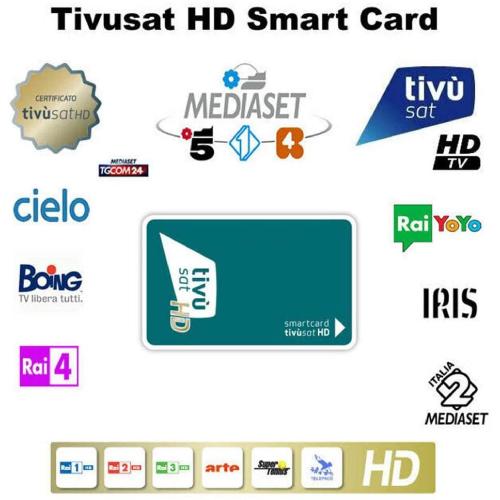 Tivusat hd viewing card