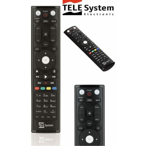 Telesystem ts-9010 tivusat remote