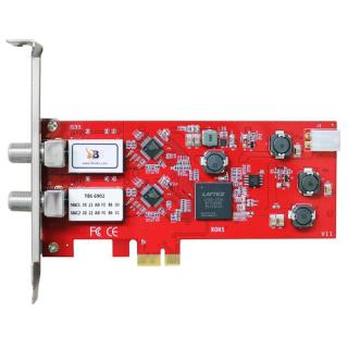 TBS 6902 Twin Tuner PC Satellite Card